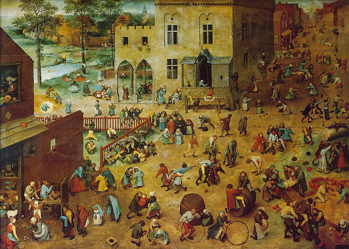 Pieter Bruegehl, Children's Games