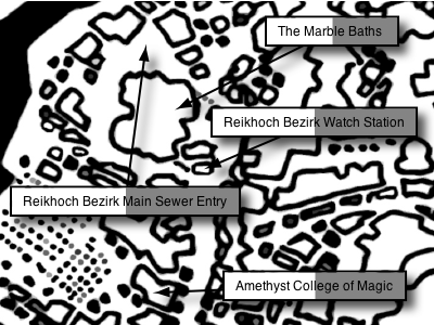 Marble Baths, Reikhoch Bezirk