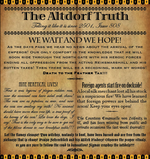 The Altdorf Truth 808