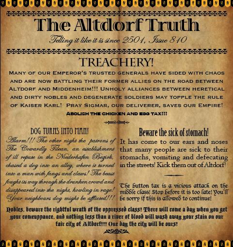 The Altdorf Truth 810