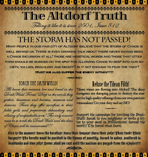 The Altdorf Truth 812