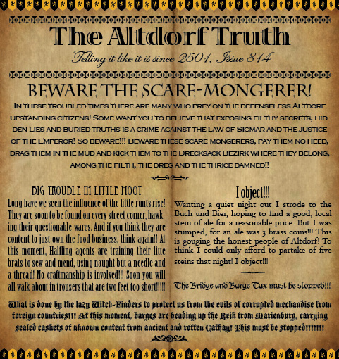 The Altdorf Truth 814